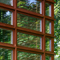 detail: Douglas fir timber framed module